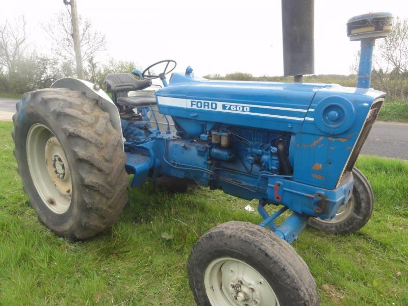 Tractor Data Ford 7600 : Robert wraight used tractors and machines