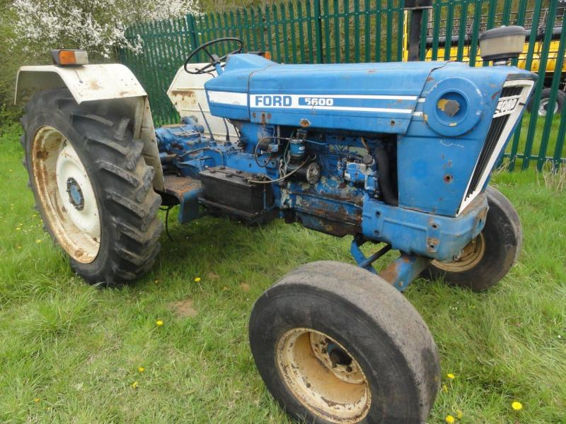 5600 Ford Tractor Seat : Robert wraight used tractors and machines