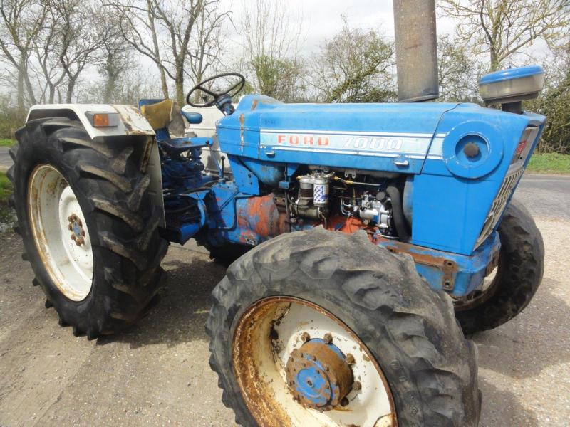 Ford 7000 Tractor : Robert wraight used tractors and machines