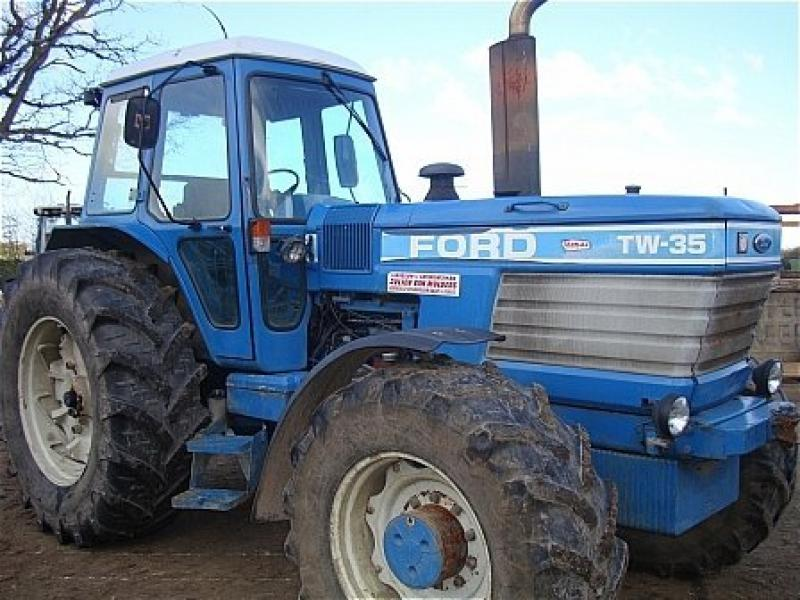 Ford Tw 35 Tractor Parts : Robert wraight used tractors and machines