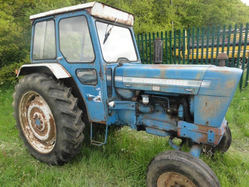 1973 Ford Tractor 5000 Parts : Robert wraight used tractors and machines