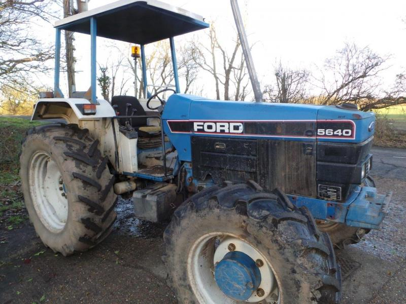 Ford 5640 Tractor Parts : Robert wraight used tractors and machines