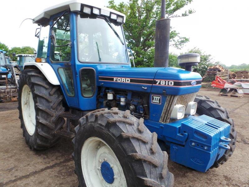 Ford 7810 Tractor : Robert wraight used tractors and machines