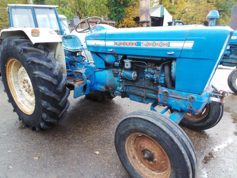 1972 Ford 5000 Tractor Parts : Robert wraight used tractors and machines