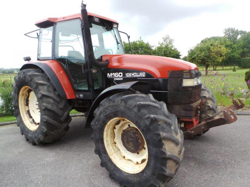1996 New Holland M160 4wd