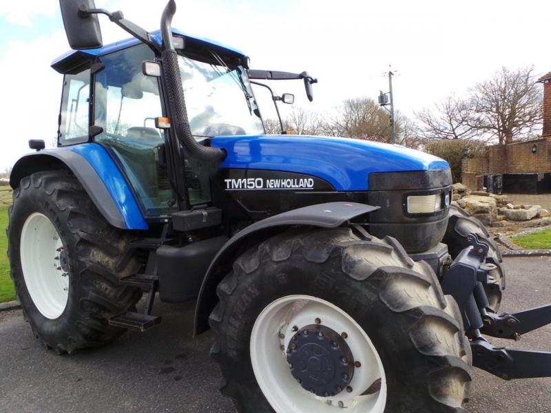 2002 New Holland TM150 4wd