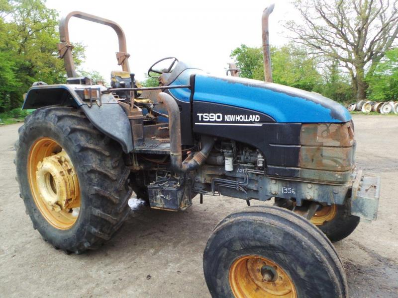 0 New Holland TS90 2wd