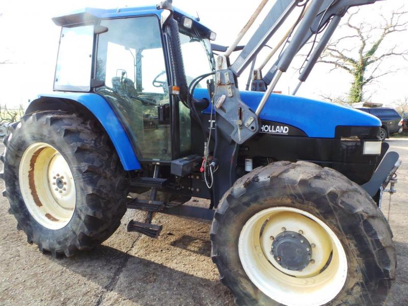 0 New Holland TM115 4wd